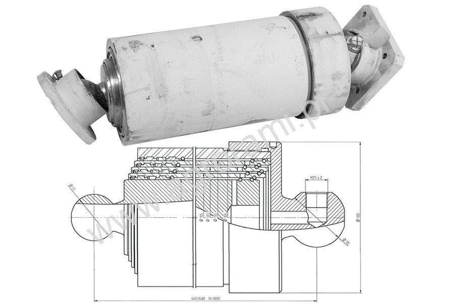 Siłownik hydrauliczny teleskopowy ST4/1035