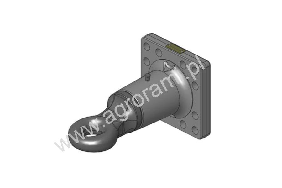 Zaczep flanszowy Fi50 , 160x160 obrotowy Scharmueller