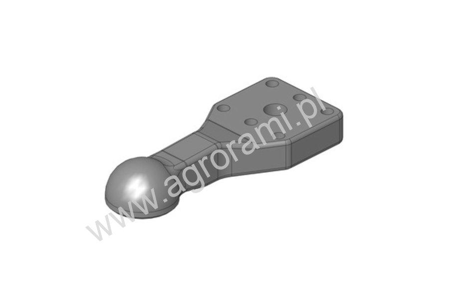 Zaczep flanszowy horyzontalny typu Annaburger 130x115 4t , K80 Scharmueller