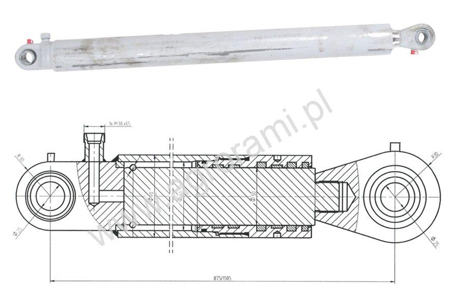 Cylinder TUR wzmacniany