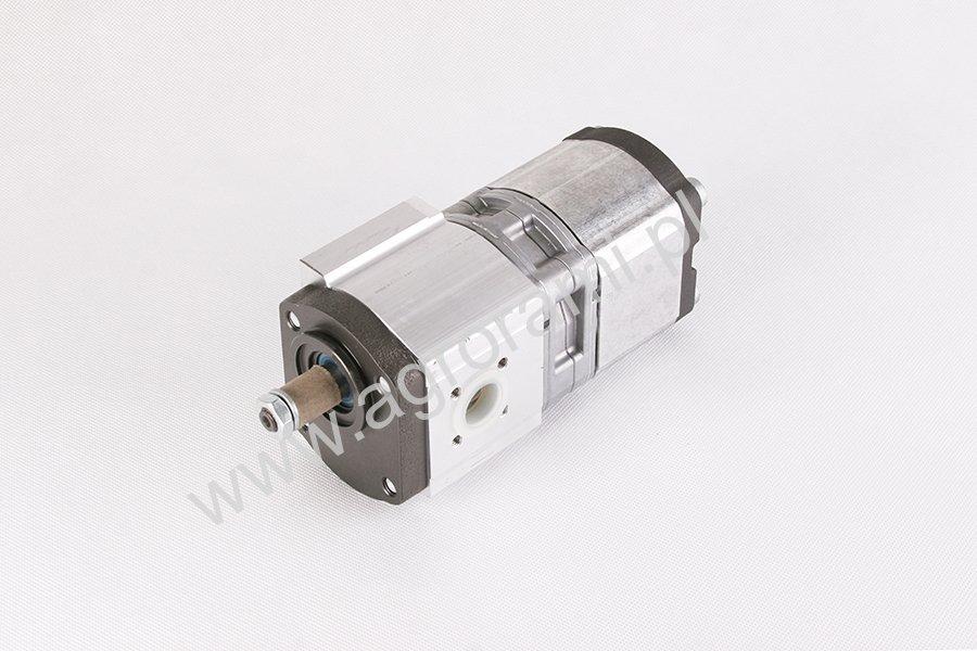 Pompa hydrauliczna 565-75 BOSCH  566-75 podwójna 19+11 cm3/obr, kierunek L, stożek 1:5, B 17x17) M