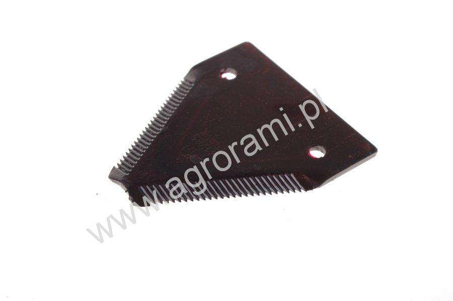 Nożyk kosy Rasspe grubo nacinany. H-84mm, Szer.76mm, otw.6.5mm, rozsotw.51.5mm, do krawędzi 20mm