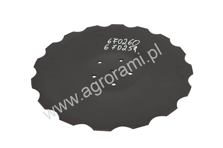 TALERZ ZĘBATY 460MM AC353951 INDUSTRIEHOF