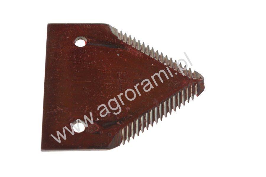 Nożyk kosy  RASSPE  Górno NACINANY , H-83, Szer.76mm,Otw.6.5mm, rozs.otw.50.8mm, do krawędzi 36mm