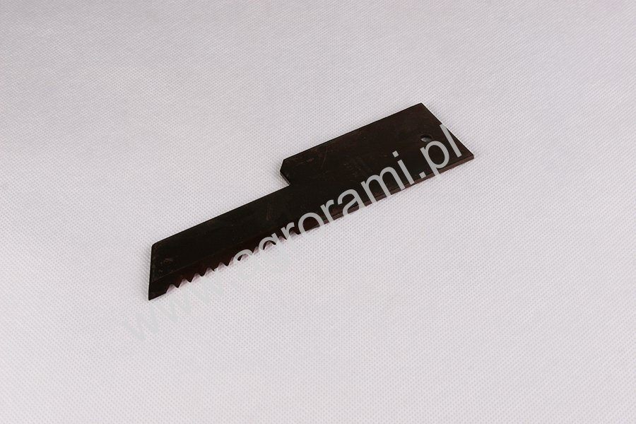 Nóż sieczkarni  RASSPE,  H-200mm, Szer.50mm/32mm , otw. 6mm